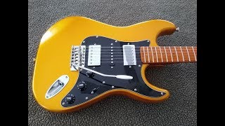 Do It Yourself - Gold Strat Style Build (Partscaster)