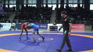 Qualification FS - 51 kg: Ziya Göyüşov (AZE) - Adil Məmmədov (AZE)