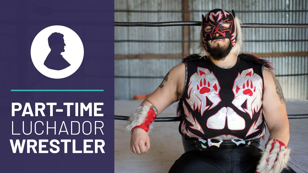 Lucha Libre Youtube This Masked Man Makes An Extra 200 Week As A Mexican Wrestler Or Luchador