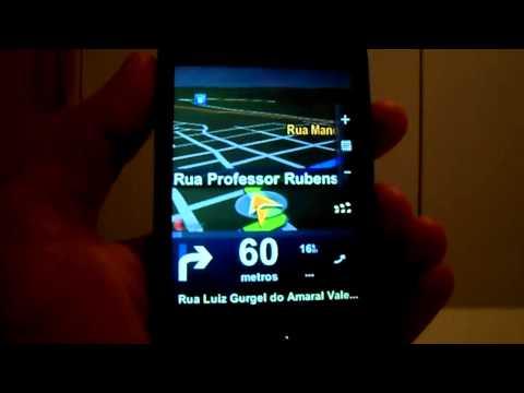 Samsung Galaxy Fit S5670 - Teste do GPS (Sem Internet) no Android 2.3.4 [HD]