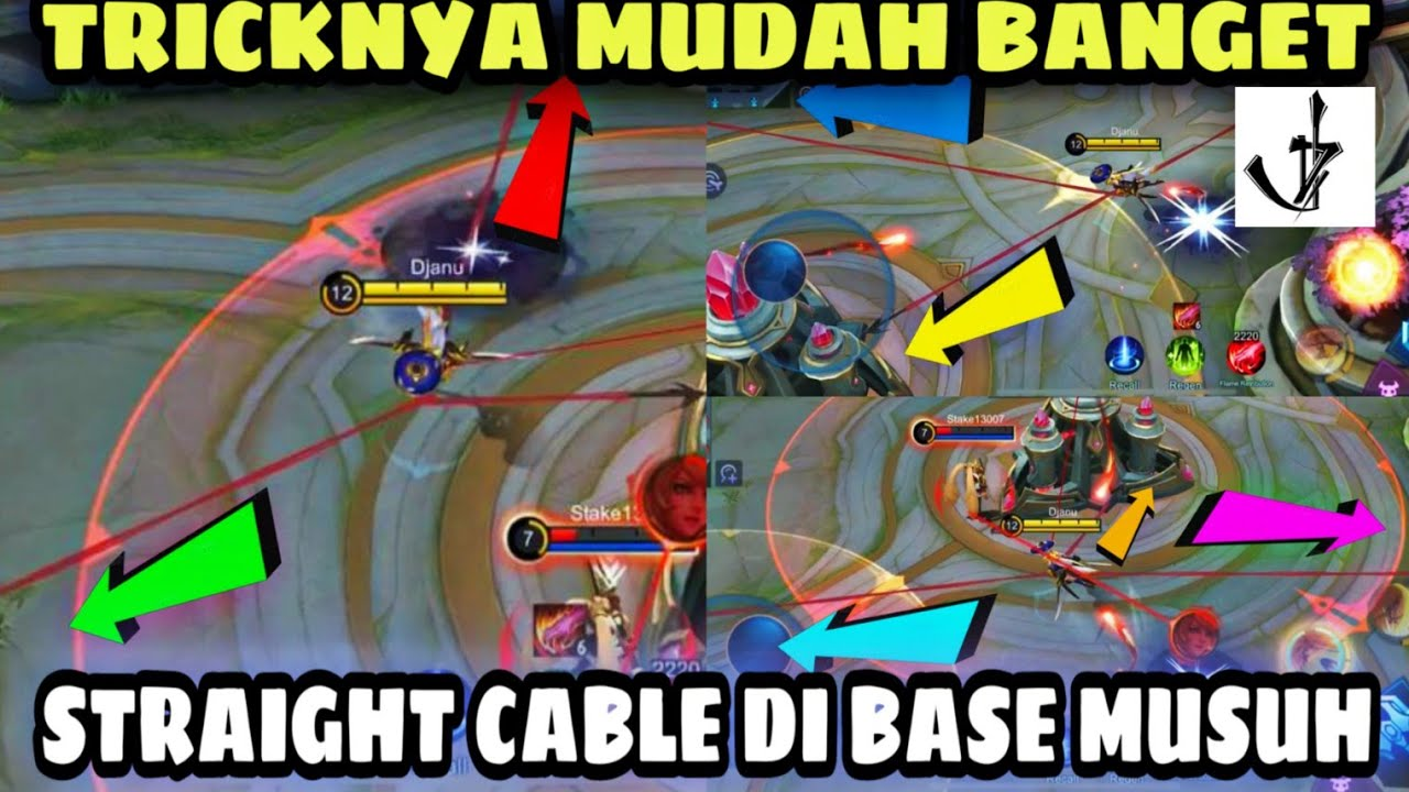 TUTORIAL STRAIGHT CABLE DI BASE MUSUH | TIPS AND TRICK SPOT CABLE LURUS FANNY by DJANU ID