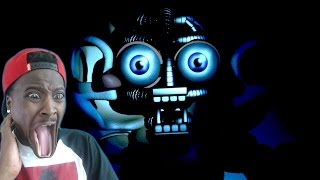 SCREAMING FOR MY LIFE | Five Nights at Freddy's Sister Location | BIDYBAB JUMPSCARE