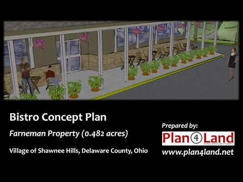 Bistro Concept Plan - Village of Shawnee Hills