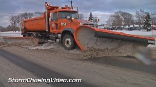 11/12/2014 Saint Cloud, MN  Snow Clean Up Continues.
