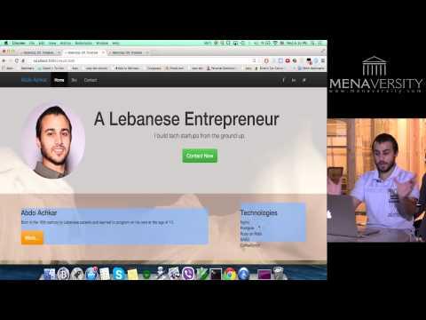 Bootstrap workshop by Abdo achkar