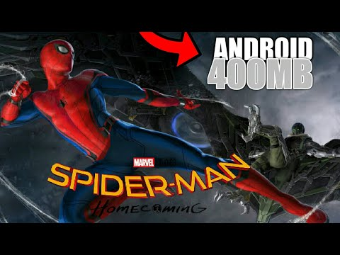 [400MB] SPIDER MAN HOMECOMIMG AND VULTURE ANDROID DOWNLOAD  (HINDI/URDU)