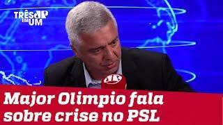 'Só lamento', diz Olimpio sobre briga com filhos de Bolsonaro