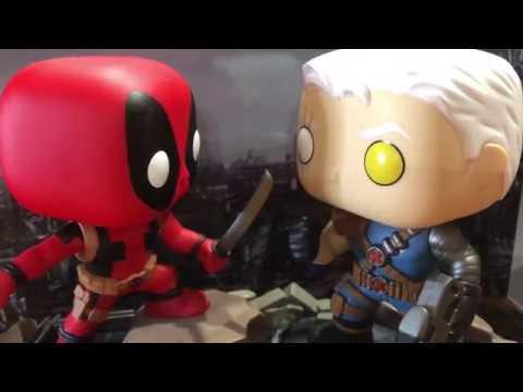 Funko Cable Brand New In Box POP Marvel: Comic Moments Deadpool vs