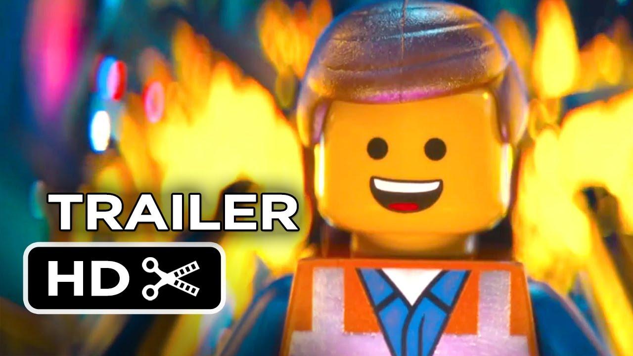 The Lego Movie Extended MAIN TRAILER (2013) - Stephen Colbert, Chris Pratt Movie HD