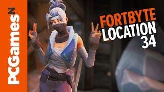 Fortnite Fortbyte guide - Number #34