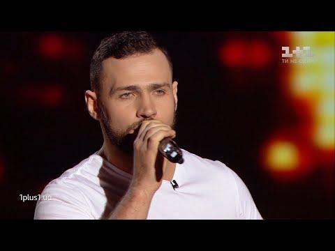 """Vyacheslav Kretov – """"Skin"""" – Blind Audition – The Voice of Ukraine – season 9"""