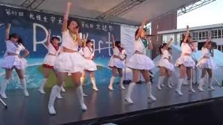 20161009 第49回札幌大学大学祭 北海道ご当地アイドル フルーティー.