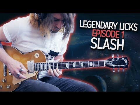 Legendary Licks: Episode 1 - Slash