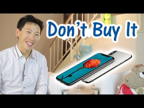 Don't Buy It iPhone X Edition