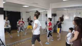 Talents Manila Workshop 2013-Hiphop Class with Kimmy