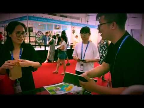 Cocohealth Products booth @ 14th China-ASEAN Expo 2017
