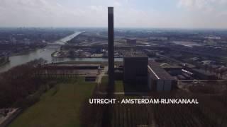Drone Utrecht Amsterdam-Rijnkanaal