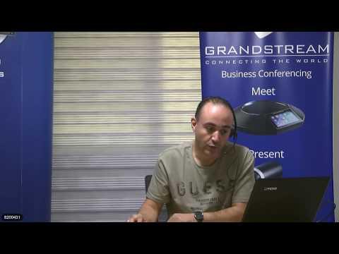 Grandstream Arabic Webinar hosted by FiberME for UCM200 IPPBX features, Sessoin 2