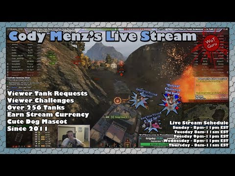 World of Tanks Live Stream [WoT Guru] [273 Tanks] [English - NA] [Viewer Tank Requests] 11/20/17