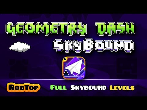 Geometry Dash SkyBound ~ All Levels 1-5 + Coins - Geometry Dash (Fanmade)