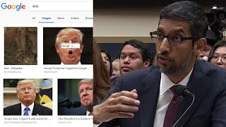 Google executive explains why a search for 'idiot' brings up pictures of Trump