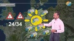 Wetterprognose: Dämpfer für Hitze. Kaltlufttropfen & Überraschungen. Langfristig weiter unbeständig.