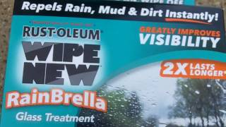 Product Review: Wipe New Rainbrella
