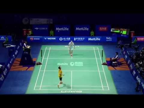 Thaihot China Open 2015 | Badminton R16 M1-MS | Lee Chong Wei vs Chou Tien Chen
