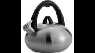 Review of The special value whistling tea kettle by Calphalon/Have Spooky tea with us!
