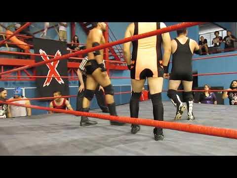 Xtreme: Límite(c) vs Ariel Levy vs Twiggy vs Boris - Leñadores, válida por el título de Xtreme