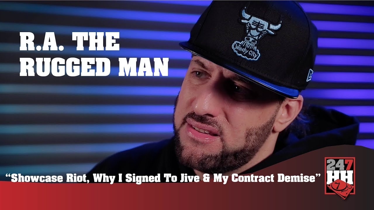 R A The Rugged Man Showcase Riot Why I Signed To Jive My Contract Demise 247hh Exclusive