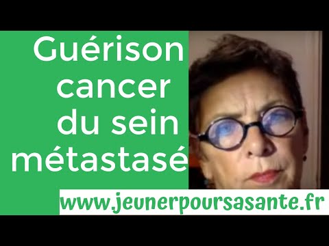 Comment Eveline soigne son cancer du sein métastasé avec le jeûne hydrique longue durée