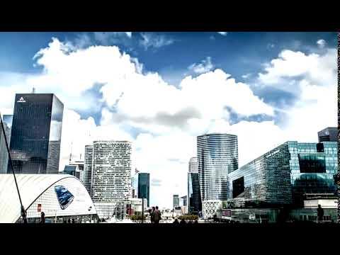 LQD   Background #4 FastArt Digital Business Paris City TimeLapse Eiffel Tower 4K