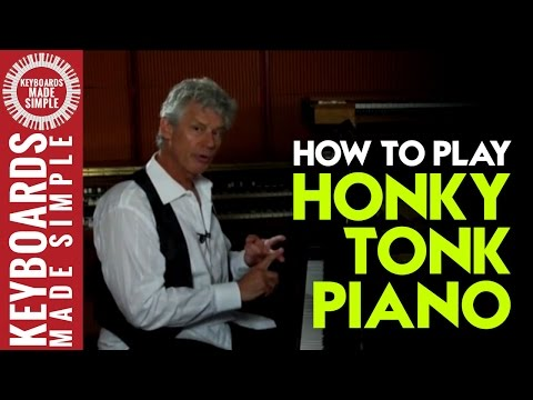 How to Play Honky Tonk Piano - Jimmy Reed and Chuck Berry Style