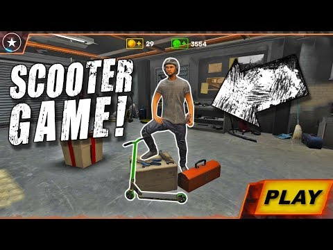 BRAND NEW PRO SCOOTER TRICKS VIDEO GAME
