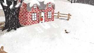 Snow by Walter de la Mare animation