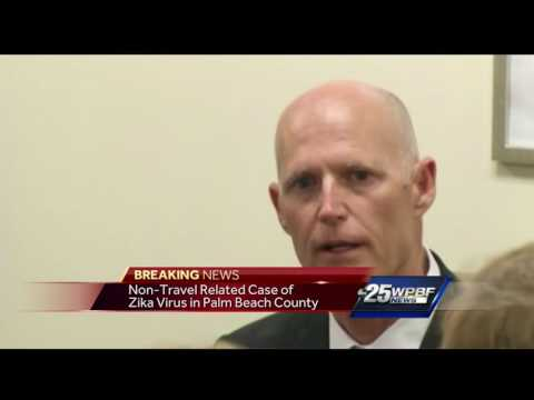 Non-travel related case of Zika virus in Palm Beach County
