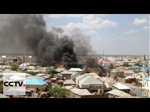 At least 10 killed in two explosions in Galkayo