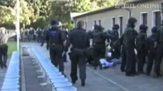 Leipziger Einsatzpolizei_ gesetzeswidriger brutaler Einsatz gegen Fans der BSG Chemie