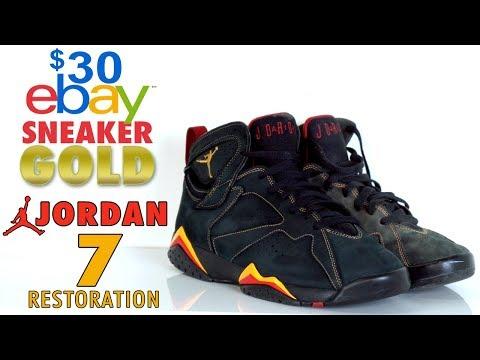 $30 eBay Sneaker Gold - Air Jordan 7 Citrus Restoration