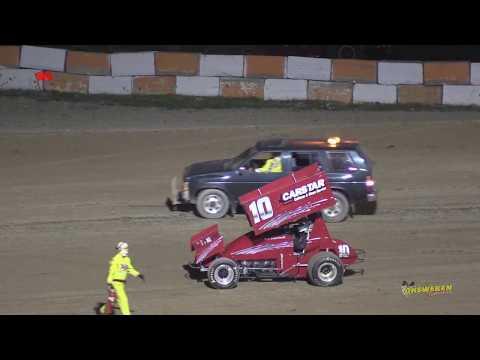 Ohsweken Speedway July 4/14 CorrPAK VS SOS Sprint A Main