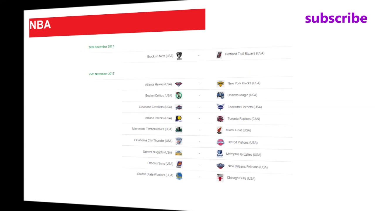 Basketball nba results schedule standings week jpg 1280x720 Schedule  chicago bulls 2017 2018 062860445