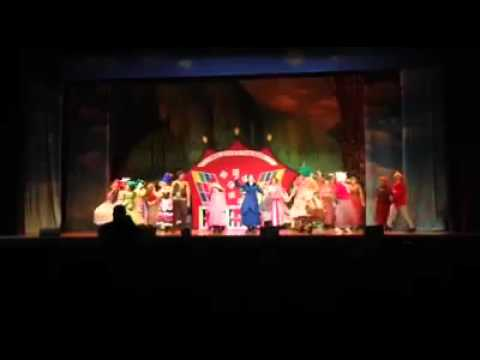 Supercalifragilisticexpialidocious - Mary Poppins 2016 - Palace Theatre