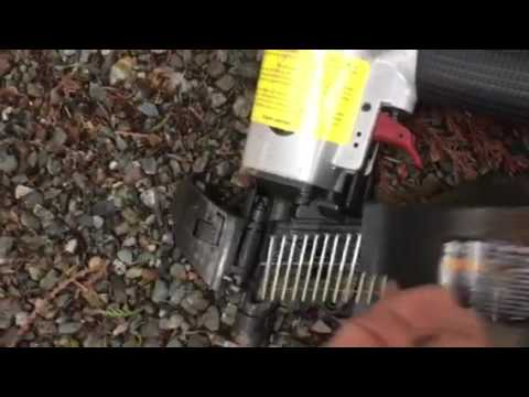 Harbor Freight Roofing Nailer Using Siding Nails