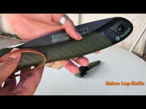 Набор: пила + нож Bahco Lap-Knife