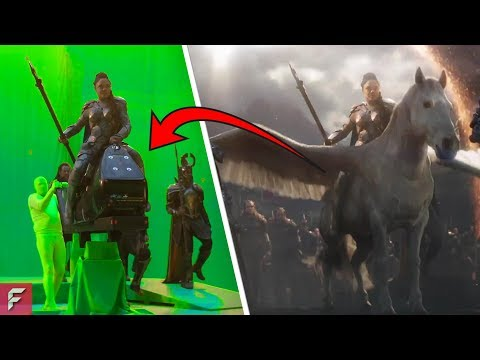 Movies BEFORE AND AFTER Special Effects (VFX)