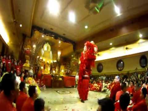 Lion Dance at Vietnamese Buddhist Centre