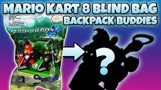 MARIO KART 8 Backpack Buddies BLIND BAG OPENING Nintendo Toy Review | Trusty Toy Channel