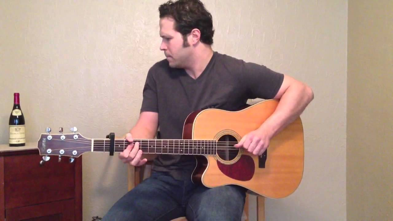 Caribbean Queen Acoustic Cover Youtube