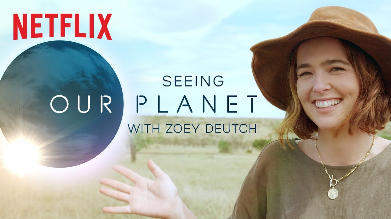 Zoey Deutch's Our Planet African Safari Video Diary | Netflix